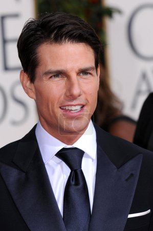 Tom Cruise at the 66th Annual Golden Globe Awards....