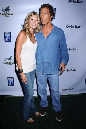Sarah Wright and Matthew McConaughey