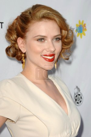Photo for Scarlett Johansson at the Opening Night Of LA Shorts Fest '09. Laemmle's Sunset 5, West Hollywood, CA. 07-23-09 - Royalty Free Image