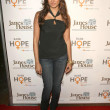 Noureen DeWulf at the Raise Hope for the Congo Hol...