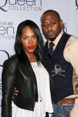 Omarr Epps and wife Keisha