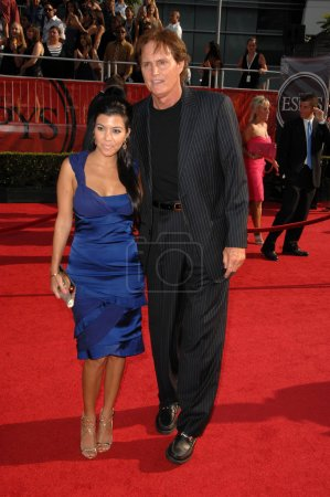 Kourtney Kardashian and Bruce Jenner
