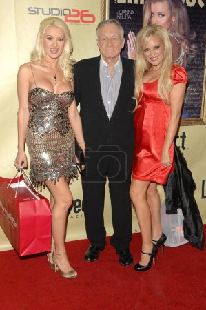 Holly Madison with Hugh Hefner