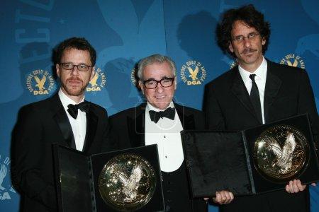 Ethan Coen with Martin Scorsese