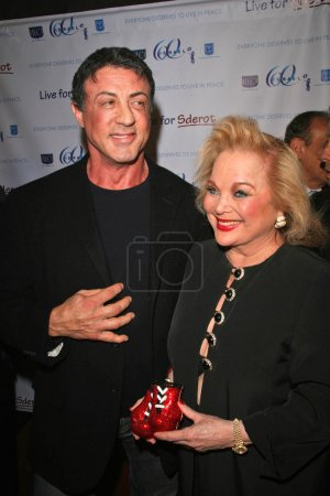 Sylvester Stallone and Carol Connors