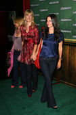 Rosanna Arquette with Laura Dern and Courteney Cox