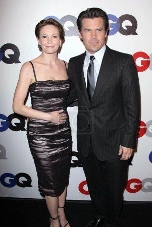 Diane Lane and Josh Brolin at the 2007 GQ 'Men Of ...
