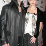Weston Coppola Cage and Christina Fulton at the FU...