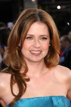 """Photo for Jenna Fischer at the World Premiere of """"Get Smart"""". Mann Village Theatre, Westwood, CA. 06-16-08 - Royalty Free Image"""