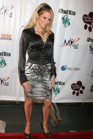 Photo for Jessica Drake at the 1st Annual Cuties For Canines benefit to raise awareness funds for dogs about to be euthanized in our Los Angeles shelters. 5th And Sunset Studios, Los Angeles, CA. 11-16-07 - Royalty Free Image