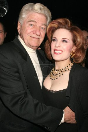 Seymour Cassel and Kat Kramer