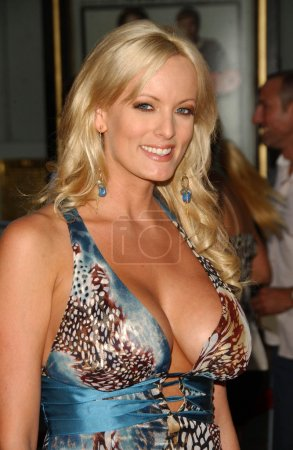 """Photo for Stormy Daniels at the Los Angeles Premiere of """"Superbad"""". Grauman's Chinese Theatre, Hollywood, CA. 08-13-07 - Royalty Free Image"""