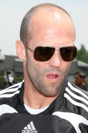 Jason Statham at the Soccer for Survivors Celebrit...