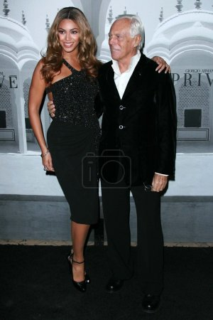 Beyonce Knowles Giorgio Armani