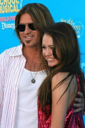 Billy Ray Cyrus Miley Cyrus