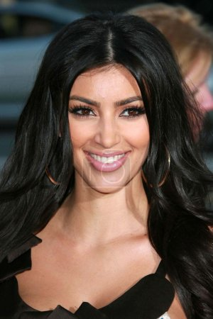 Photo for Kim Kardashian at the Los Angeles premiere of 'Sicko'. Academy of Motion Picture Arts & Sciences, Beverly Hills, CA 06-26-07 - Royalty Free Image