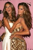 Alessandra Ambrosio and Izabel Goulart arriving at The Victorias Secret Fashion Show. Kodak Theatre, Hollywood, CA. 11-16-06