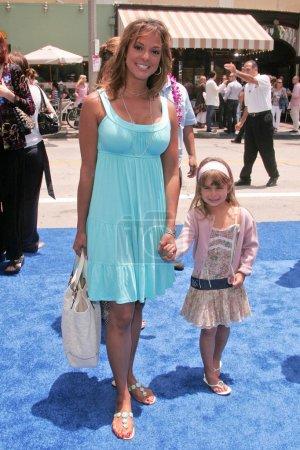 Eva LaRue and daughter Kaya