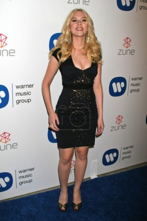 Photo for Scarlett Johansson at the Warner Music Group 2007 Grammy After Party. The Cathedral, Los Angeles, CA. 02-11-07 - Royalty Free Image