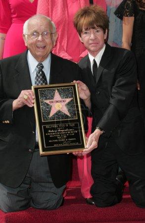Johnny Grant and Rodney Bingenheimer