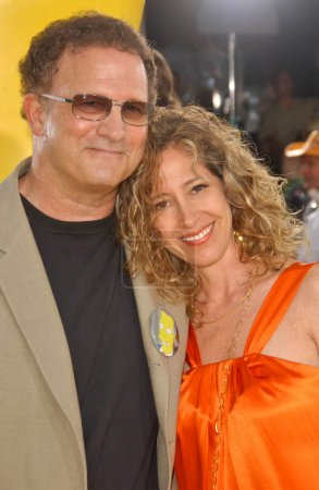Albert Brooks and wife Kimberly