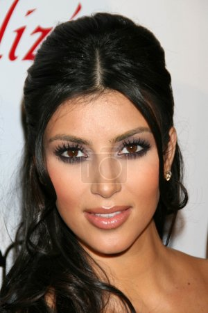 Photo for Kim Kardashian at Celebrity Catwalk for Charity. The Highlands Nightclub, Hollywood, CA. 08-16-07 - Royalty Free Image