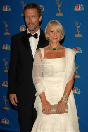 Hugh Laurie and Helen Mirren