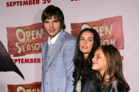 Ashton Kutcher Demi Moore Tallulah
