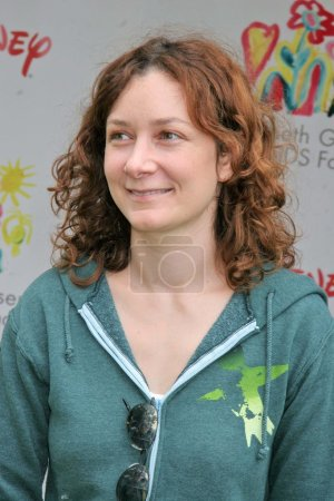 Photo for Sara Gilbert at the Elizabeth Glaser Pediatric AIDS Foundation A Time For Heroes Celebrity Carnival, Wadsworth Theater, Westwood, CA 06-11-06 - Royalty Free Image