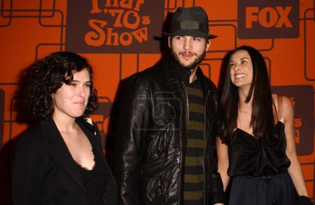 Rumer Willis with Ashton Kutcher