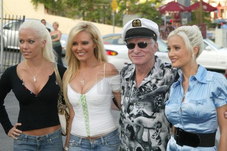 Hugh Hefner and The Girls