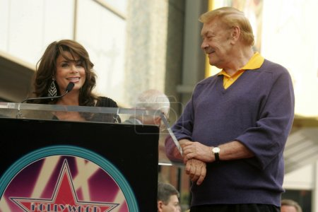 Jerry Buss Hollywood Walk of