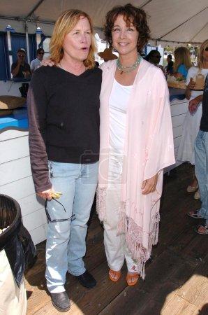 Photo pour Amy Madigan, Kathleen Quinlan à la première conférence de presse annuelle de l'annonce de la Célébration du film Malibu. Malibu Pier, Malibu, CA 24-05-06 - image libre de droit