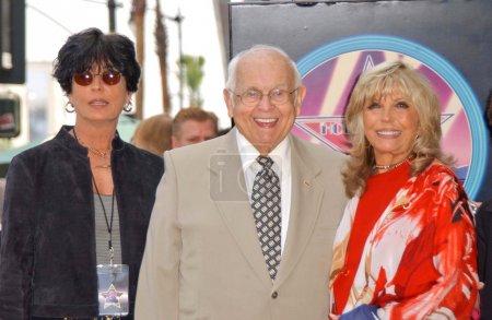 Tina Sinatra with Johnny Grant
