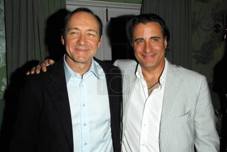 Kevin Spacey and Andy Garcia