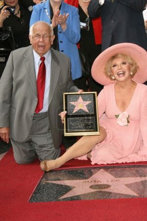 Ruta Lee Honored With A