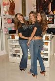 Adriana Lima with Alessandra Ambrosio and Izabel Goulart at the launch of the What is Sexy list by Victorias Secret. Victorias Secret, Los Angeles, Ca. 04-25-06