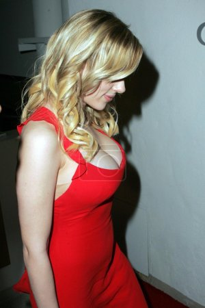 Photo for Scarlett Johansson at the Weinstein Co.Glamour Magazine Golden Globe After Party, Trader Vic's, Beverly Hills, CA 01-16-06 - Royalty Free Image