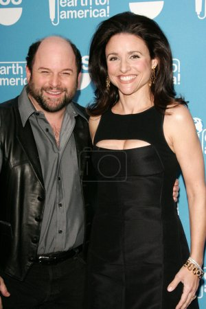 Jason Alexander and Julia Louis