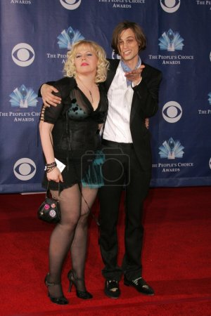 Kirsten Vangsness and Matthew Gray
