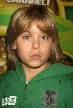 """Photo pour Cole Sprouse lors d'une projection du nouveau film original """"High School Musical"""". Walt Disney Studios, Burbank, CA. 01-14-06 - image libre de droit"""