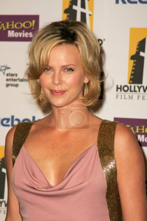 Photo for Charlize Theron at the Hollywood Film Festival 9th Annual Hollywood Awards Gala Ceremony, Beverly Hilton Hotel, Beverly Hills, CA 10-24-05 - Royalty Free Image