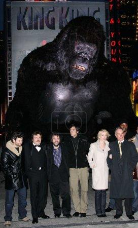 Andy Serkis, Jack Black, Peter Jackson, Adrien Brody, Naomi Watts, Mayor Michael R Bloomberg