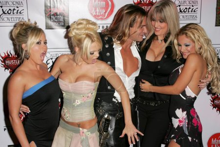 """Photo for Austin Moore, Jesse Jane, Janine Lindemulder, Carmen Luvana, Evan Stone at the Premiere of Digital Playgrounds """"Pirates"""". Egyptian Theater, Hollywood, CA 09-12-05 - Royalty Free Image"""