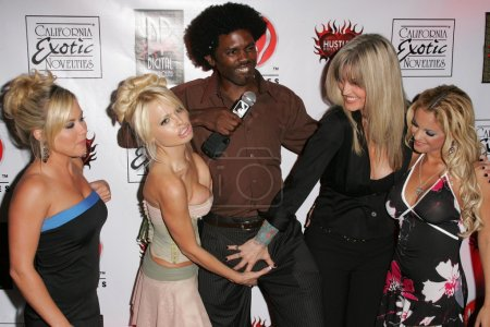"""Photo for Austin Moore, Jesse Jane, Janine Lindemulder, Carmen Luvana at the Premiere of Digital Playgrounds """"Pirates"""". Egyptian Theater, Hollywood, CA 09-12-05 - Royalty Free Image"""