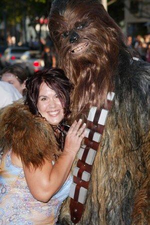 Fileena Bahris and Chewbacca