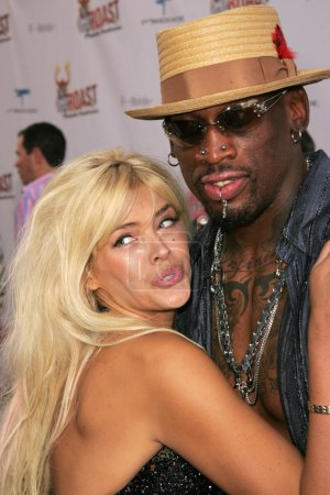 Photo for Anna Nicole Smith, Dennis Rodman at the Comedy Central Roast of Pamela Anderson, Sony Studios, Culver City, CA 08-07-05 - Royalty Free Image