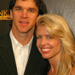 Luc Robaitaille and wife at the King Tut Returns t...