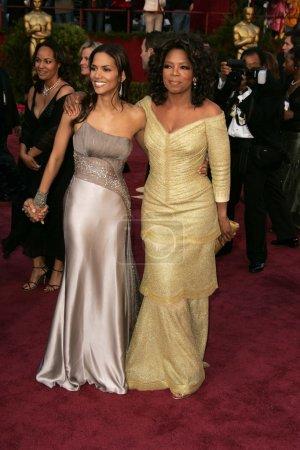 Halle Berry and Oprah Winfrey