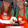 Allison Munn, Melissa Joan Hart at the The Los Angeles Mission Easter Event, Downtown, Los Angeles, CA 03-25-05